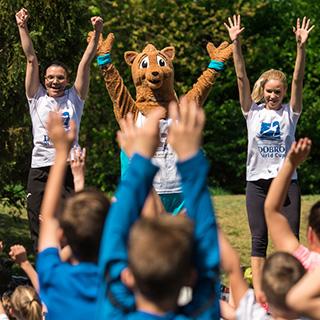 Stotine mladih u Drvenparku vježbalo sa Seligmanom