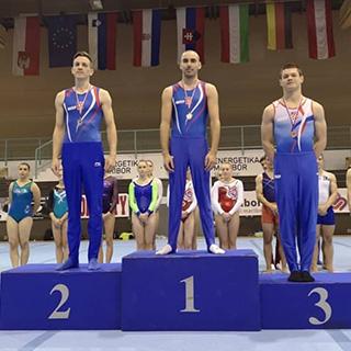 Hrvatski gimnastičari u berbi medalja na Šalamunovom memorijalu