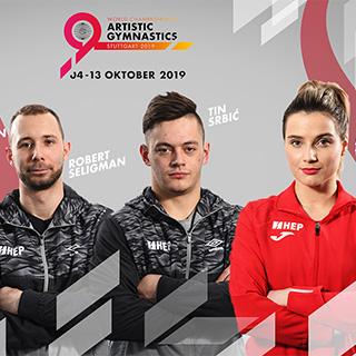 Hrvatski gimnastičari u lovu na medalje  Svjetskog prvenstva u Stuttgartu